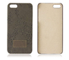 Fabric hard plastic case for iphone 5