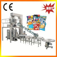 Vertical snack potato chips automatic packaging machine