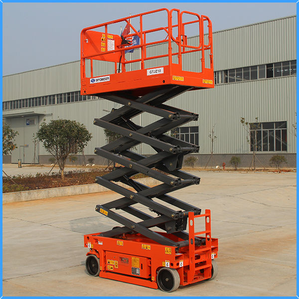 Electric scissors sky lift - 10m