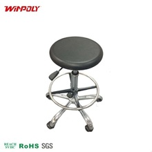 newest lab steel stool chair with metal legs