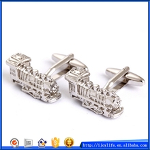 Top quality new arrival silver suit shirt cufflinks