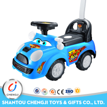 Funny sliding ride on walker musical plastic push pedal cars for kids