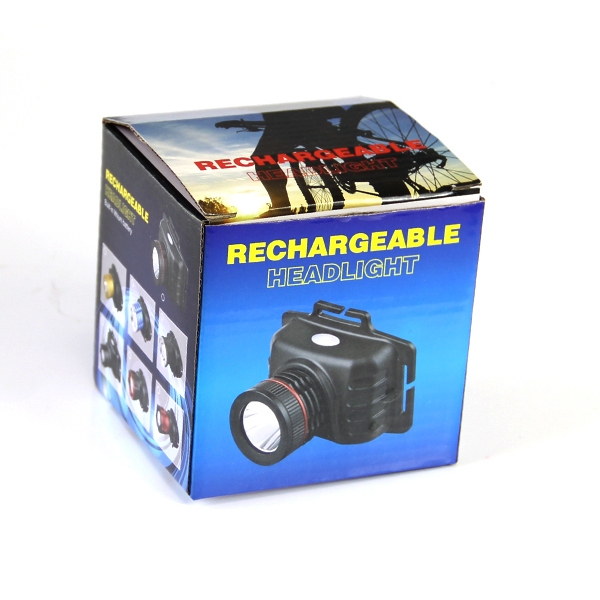 High Power Focus Li-ion battery Rechargeable Led headlights