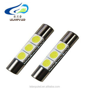 interior reading auto led light festoon 5050 3smd 31mm 12v led car light