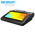 EKEMP Billing Machine/Android POS Terminal with 2D Barcode Scanner, Cash Register for Hotels