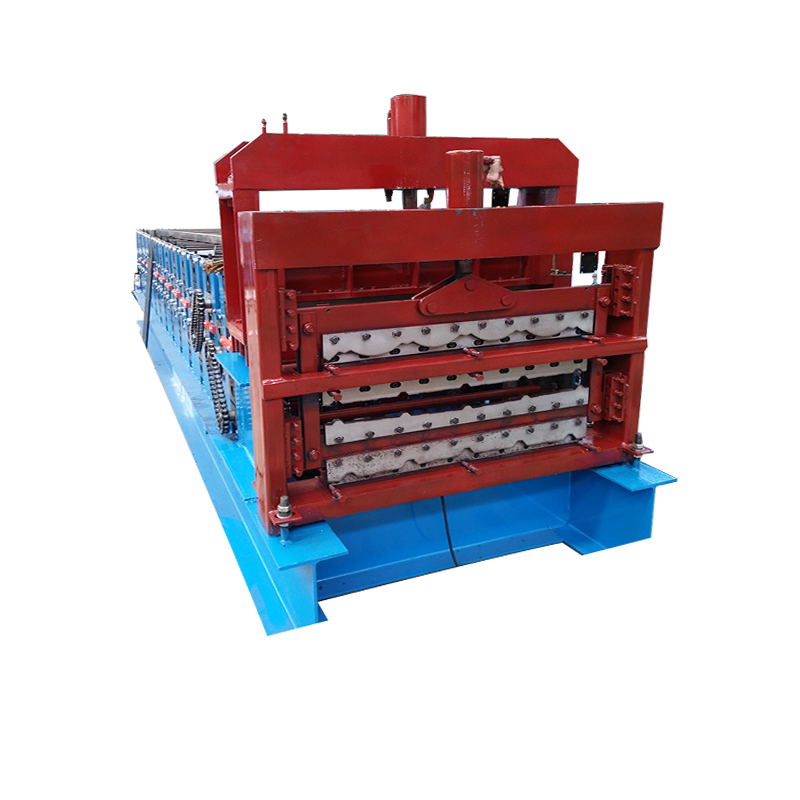 Galvanized Professional Manufacturer Three Layer Purlin Roll Forming Machine