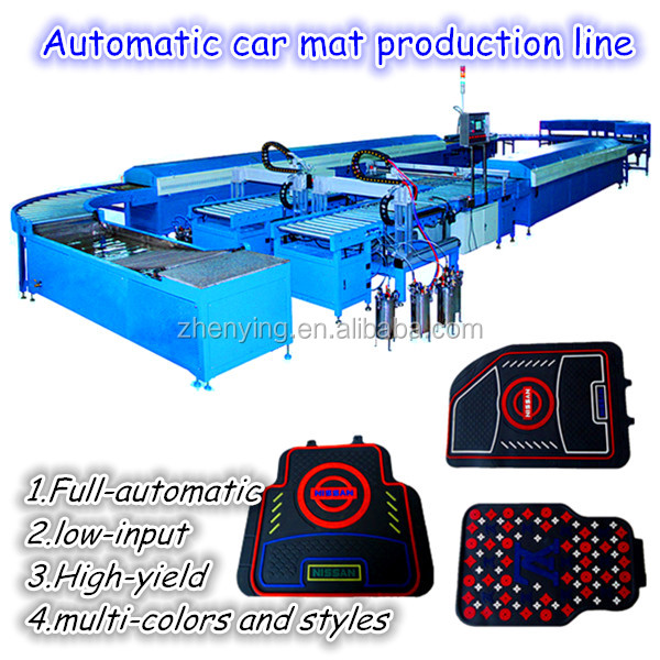 PVC car mat machine/car mat produce line