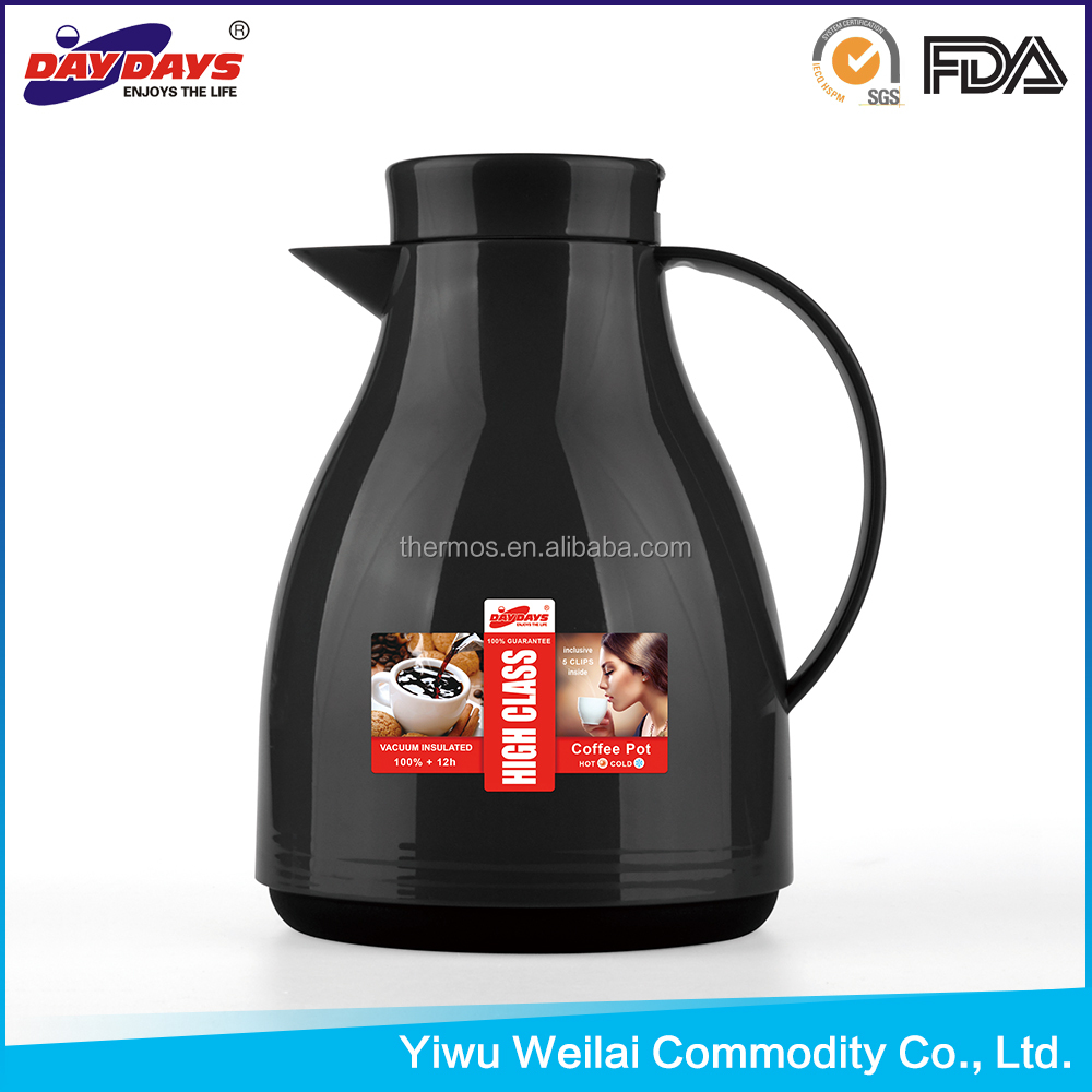 WJ-100 glass refill coffee pot tea thermos bottle flask