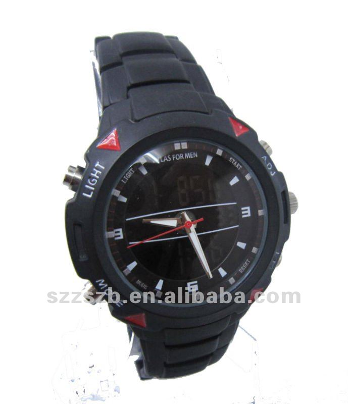 thick zinc alloy business watch men top brand