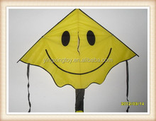 smile flyer kite toy promotional gifts Kids outdoor fashion cartoon kite toy