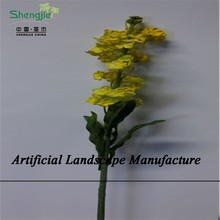 SJZJN 482 Wholesale Artificial Rape Flower , High Quality Artificial Flower, for Decoration