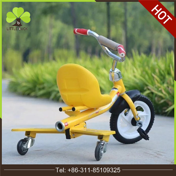 2016 Hot sale Carrier kids 3 wheel simple cheap children tricycle