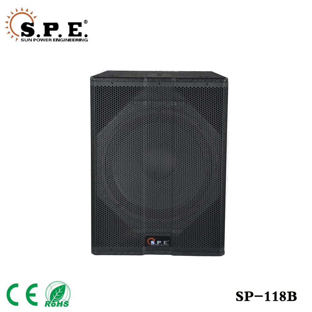 "SPE Audio Powered Subwoofer 18""/18 PA Woofer SP-118B"