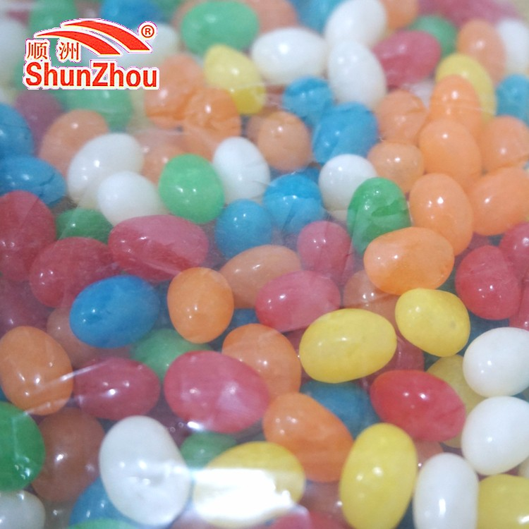 500g per bag sour fruity chewy colorful Jelly beans