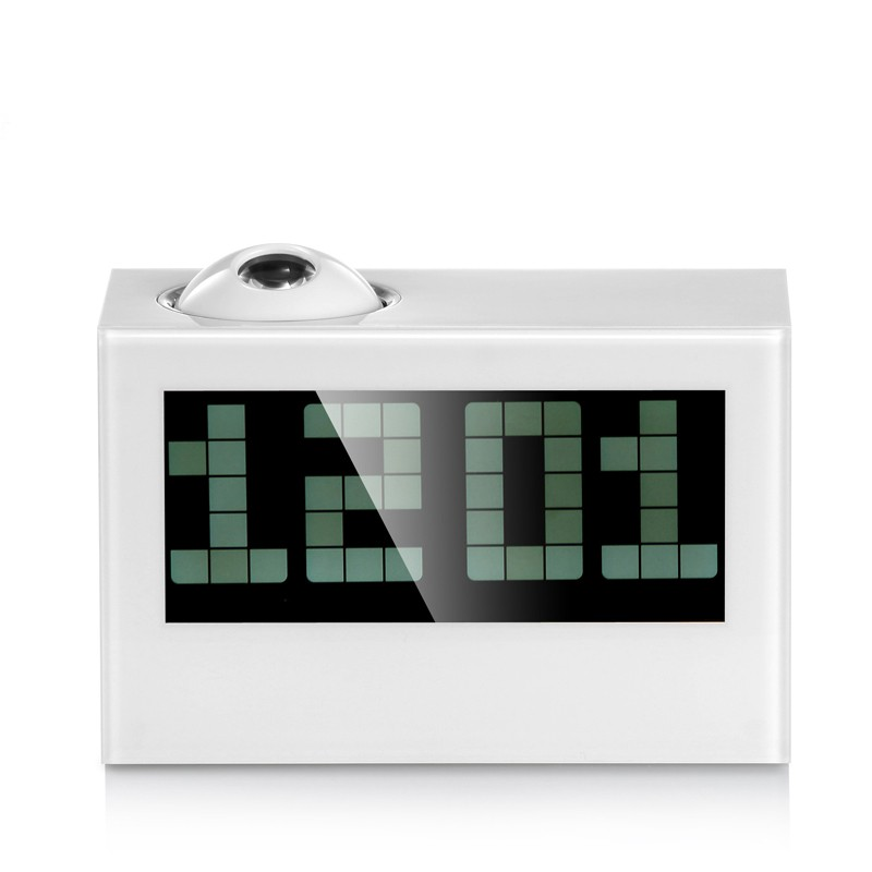 digital projection alarm clock with wake up light