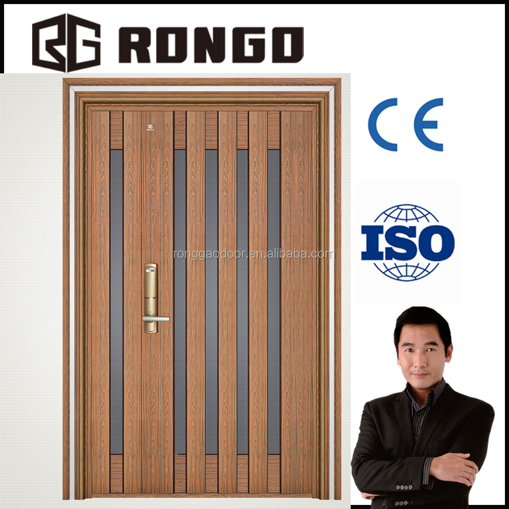 China manufacturer stainless steel doors security house door price