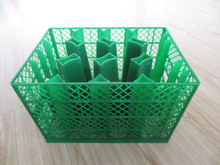 2015 hot sell plastic glass rack mould glass crate mold injection mould