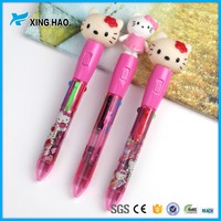 2016 Hot sale Promotional cheap plastic cute Hello Kitty Ballpoint Pen