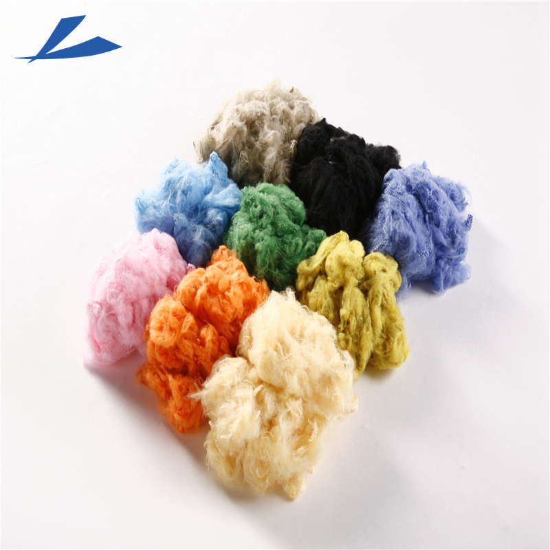 1.4Dx38mm dope dyed color polyester staple fiber PSF