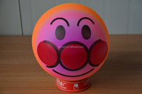 Custom high bounce PVC ball with full printed pattern