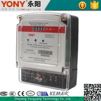 New product Square Two phase three wire digital and smart electronic energy meter