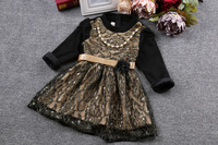 Factory Direct Kids Clothing Latest Frock Designs For Kids Children Party Winter Dresses