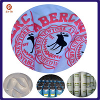 Garments water base printing puff paint