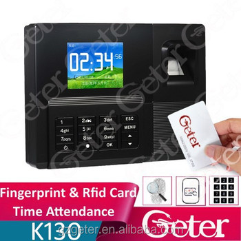 "USB Fingerprint Time Attendance with 2.8"" colorful TFT screen A-C030"