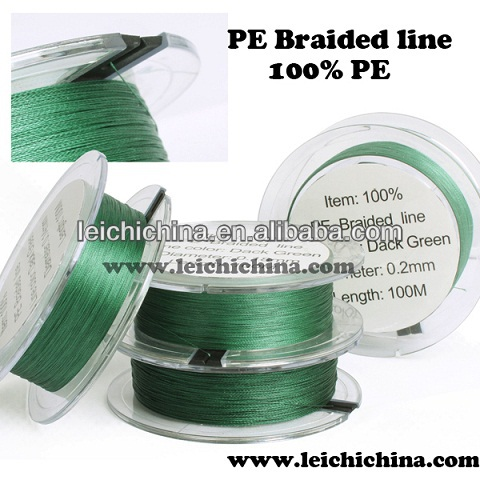New style strong inexpensive braid fly fishing line