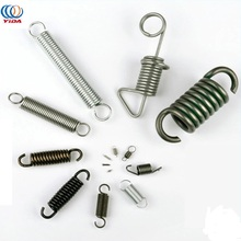 OEM Custom Zinc Plated Metal Stainless Steel Precision Extension Spring with Double Hook