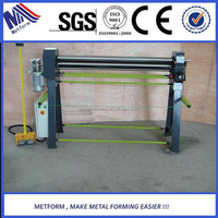 Metform Electric 3 Rolls Small Sheet Roller Bending Machine exported to Australia