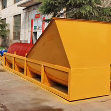 China Best Used View Larger Image Environment Friendly Screw Type 50tph Sprial Sand Washing Machine