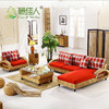 Modern Interior Wicker Handicraft Hand Woven