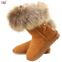 2018 best quality cheapest price ladies 100% sheepskin winter snow boots women 2018