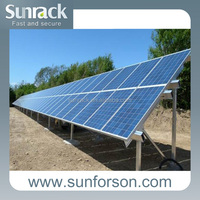 Hot Selling 1MW Solar Power Plant Ground Screw Mounting System