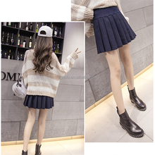 Cheap skirt top design pictures fancy short skirt size women woolen skirt wholesale