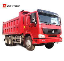 CHINA SINOTRUK HOWO 6*4 dump trucks 24 ton tipper trucks made in china