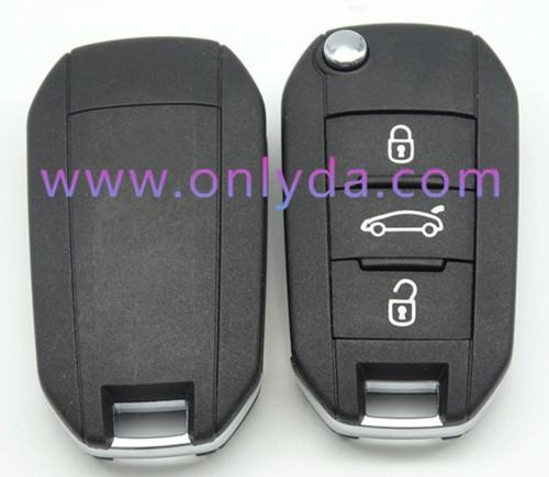 hot sale Citroen remote key with 434mhz 50% free shipping