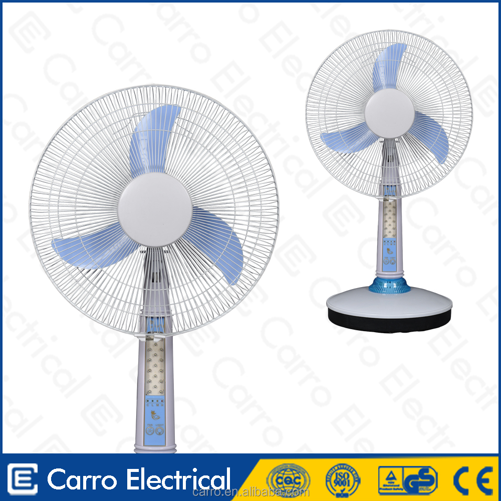 High quality solar battery emergency rechargeable fan light with radio