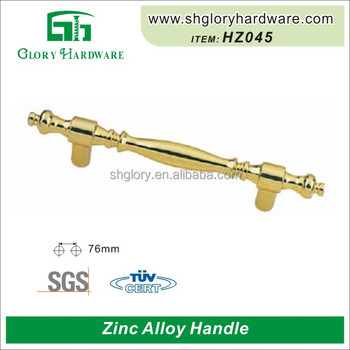 High Quality Solid Zinc Alloy Kitchen Cabinet Handle