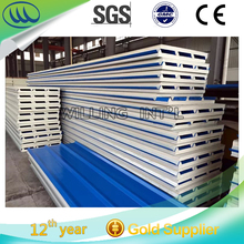 Popular Good price for ceiling / roof/wall Easy Installation pu foam sandwich panel