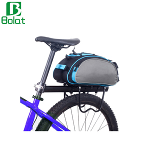 13L Bicycle Carrier Bag Large Capacity Bicycle Handlebar Bag Cycling Front Pack Bike Front Tube Bicycle Bag