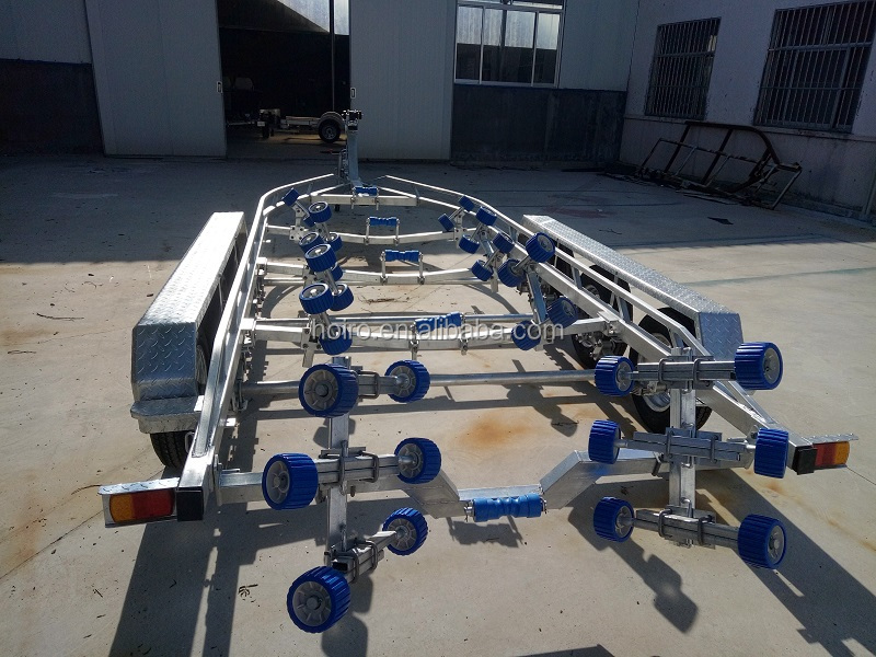 7.5m tri axles boat trailer for sale