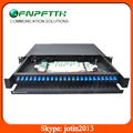 Fully with adapter and pigtails 24 ports sliable patch panel
