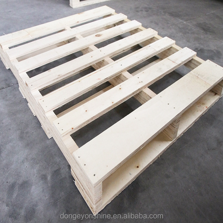 brich wood in plywood for pallet