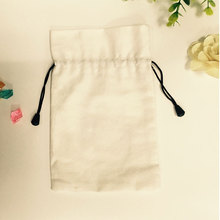 Factory wholesale cloth drawstring bag for gift