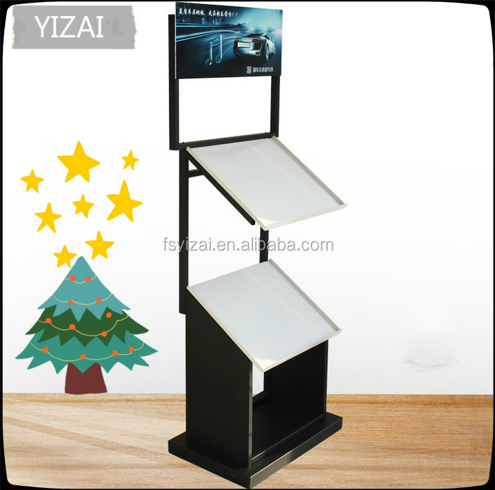 Foot Pad Display Stand And Car Floor Mat Display Case