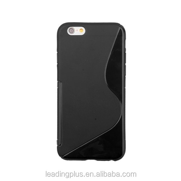 2015 extremely soft S line ultra thin TPU Case for iPhone 6 case