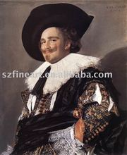 Best sell handmade copy painting of famous artist Frans Hals