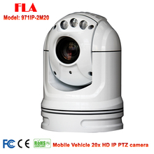 1080P 2MP ONVIF 20X MINI IR PTZ IP Camera Outdoor Waterproof Mobile Vehicle PTZ IP camera for car boats